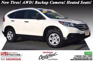 2014 Honda CR-V LX - AWD New Tires! AWD! Backup Camera! Heated S