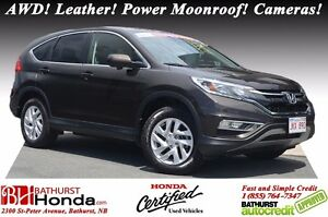 2016 Honda CR-V EX-L LIKE NEW! AWD! Leather! Power Moonroof! Cam
