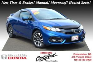 2015 Honda Civic Coupe EX New MVI! New Tires & Brakes! 5 Speed M