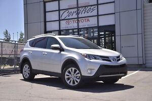 2013 Toyota RAV4 Limited CUIR TOIT ET++ 90 DAYS WITHOUT PAYMENTS