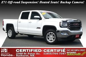 2016 GMC Sierra 1500 SLE V8! 5.3L- 355hp! Z71 Off-road Suspensio
