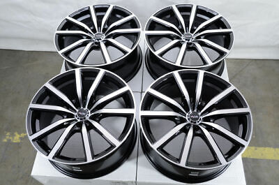 18 5x120 Black Wheels Fits Bmw 135 320 328 325 Z3 Z4 X1 330 335 340 5 Lug Rims