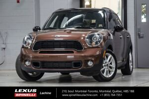 2014 MINI Cooper Countryman S AWD; CUIR TOIT PANO BLUETOOTH AWD