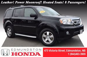 2009 Honda Pilot EX-L Leather! Power Moonroof! Heated Seats! 8 P