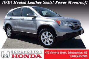 2007 Honda CR-V EX-L - 4WD 4WD! Heated Leather Seats! Power Moon