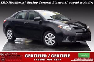 2016 Toyota Corolla LE LED Headlamps! Backup Camera! Bluetooth!