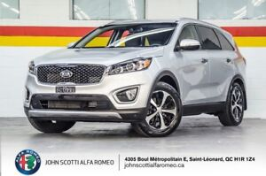 2017 Kia Sorento EX TURBO AWD CUIR CAMERA BLUETOOTH LOW KMs