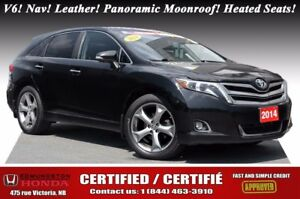 2014 Toyota Venza Limited AWD V6! Nav! Leather! Panoramic Moonro