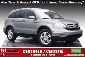 2011 Honda CR-V EX Certified! New Tires & Brakes! 4WD! Auto Star