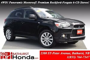 2011 Mitsubishi RVR GT 4WD! Panoramic Moonroof! Premium Rockford
