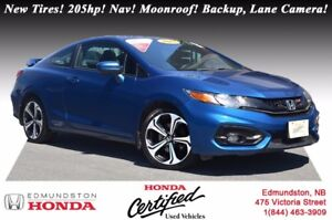 2015 Honda Civic Coupe Si New Tires! i-VTEC - 205hp! Navigation!