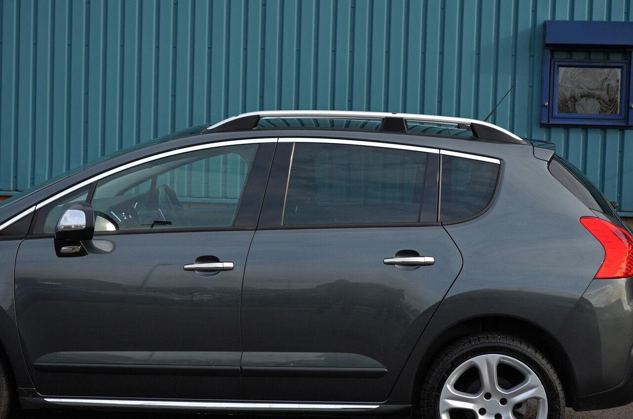Aluminium Roof Rack Rails Side Bars Set To Fit Peugeot