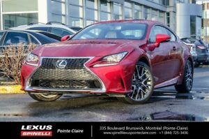 2017 Lexus RC 300 F SPORT, AWD, LIKE NEW! ONLY 645 KMS! LFA CLUS