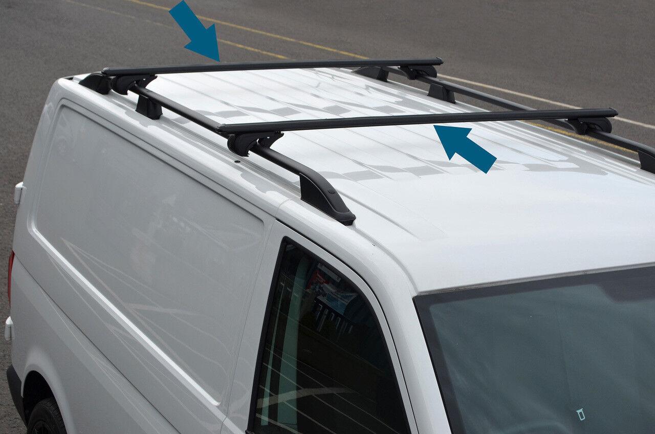 Accesorios de Barra Transversal para rieles de Techo para Adaptarse a T6 Transporter 16 + Alvm Parts /& 100 kg con Cerradura