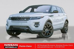 2015 Land Rover Range Rover Evoque Dynamic RED LEATHER / MOONROO