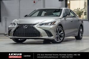 2019 Lexus ES 350 F SPORT II; CUIR TOIT GPS CARPLAY ENFORM LSS+