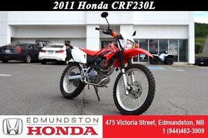2011 Honda CRF230L High-rpm performance!! Excellent stability an
