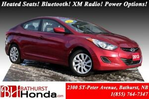 2013 Hyundai Elantra Heated Seats! Bluetooth! XM Radio! Power Op