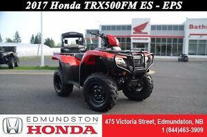 2017 Honda TRX500 Foreman - ES-  EPS Electric Shift! Electronic