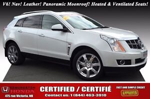2010 Cadillac SRX 3.0 Premium AWD! V6! Auto Start! Nav! Leather!