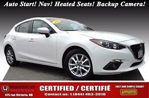 2015 Mazda Mazda3 GS Hatchback! Auto Start! Nav! Heated Seats! B
