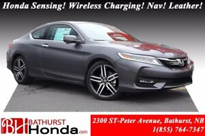 2017 Honda Accord Coupe TOURING Wireless Charging! Honda Sensing