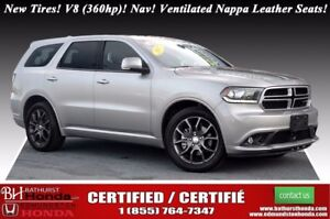 2017 Dodge Durango R/T New Tires! V8 (360hp)! Nav! Nappa Leather