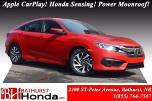 2017 Honda Civic Sedan EX - HS Honda Sensing! Power Moonroof! Ba
