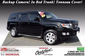 2013 Honda Ridgeline VP Backup Camera! In Bed Trunk! Tonneau Cov