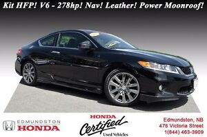2013 Honda Accord Coupe EX-L w/Navi - V6 Kit HFP! V6 - 278hp! Na