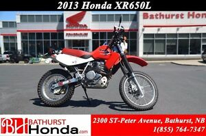 2013 Honda XR650L Tackle any terrain!! Excellent torque on or of