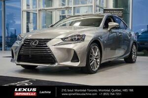 2017 Lexus IS 300 LUXE AWD; CUIR TOIT GPS  LSS+ AILERON $4,609 S
