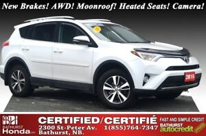 2016 Toyota RAV4 XLE - AWD New Brakes! AWD! Moonroof! Heated Sea