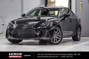 2018 Lexus IS F SPORT I AWD; LSS+ TOIT CAMÉRA CUIR NEW DEMO - $5