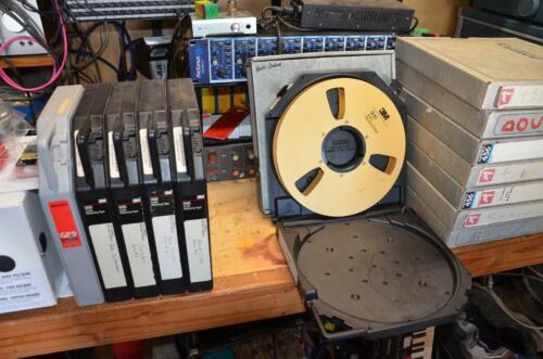 """Precision 1"""" audio tape reel"""