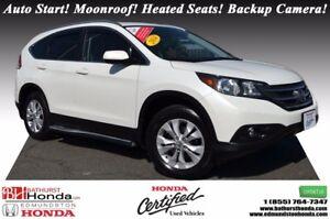2014 Honda CR-V EX - AWD AWD! Auto Start! Power Moonroof! Heated