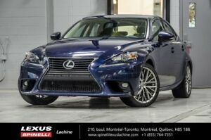 2015 Lexus IS 250 PREMIUM; CUIR TOIT CAMERA NEW ARRIVAL