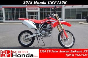 2018 Honda CRF150R Power when you want it! Easy start from hot o