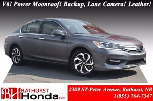 2017 Honda Accord Sedan EX-L - V6 V6! Leather, Heated, Power Sea