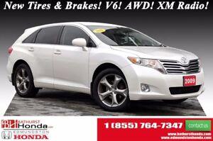 2009 Toyota Venza New Tires & Brakes! V6! AWD! XM Radio! 8-way P