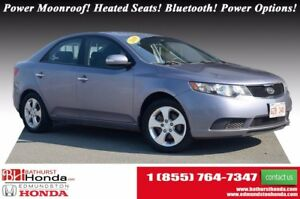 2010 Kia Forte EX Power Moonroof! Heated Seats! Bluetooth! Power