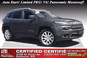 2016 Jeep Cherokee Limited Low Mileage! Auto Start! Limited PKG!