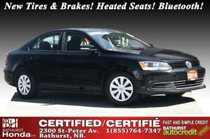 2014 Volkswagen Jetta Sedan Trendline+ New Tires & Brakes! Heate