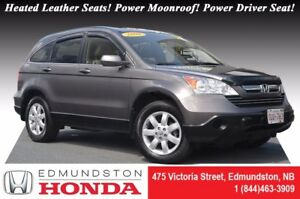 2009 Honda CR-V EX-L Heated Leather Seats! Power Moonroof! Power