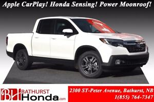 2018 Honda Ridgeline SPORT Honda Sensing! Power Moonroof! LED Li