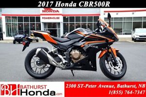 2017 Honda CBR500RA ( ABS! Top-End Performance! Stable & Compact