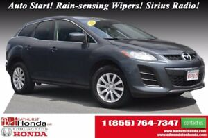2011 Mazda CX-7 GX - FWD Auto Start! Rain-sensing Wipers! Sirius