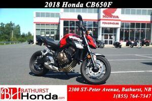 2018 Honda CB650 F