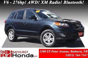 2010 Hyundai Santa Fe GL V6 - 276hp! AWD! XM Radio! Bluetooth!