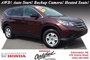 2014 Honda CR-V LX AWD! Auto Start! Backup Camera! Heated Seats!